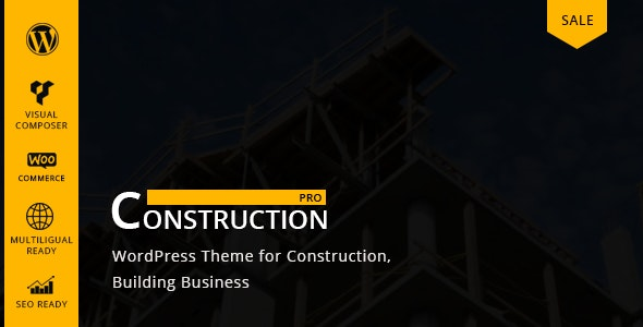 Constructionpro – Building & Renovation Company WordPress Theme