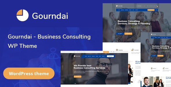 Gourndai – Corporate Agency & Consulting WordPress Theme