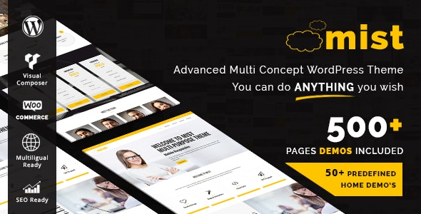 Mist – Advanced Multi-Concept Theme