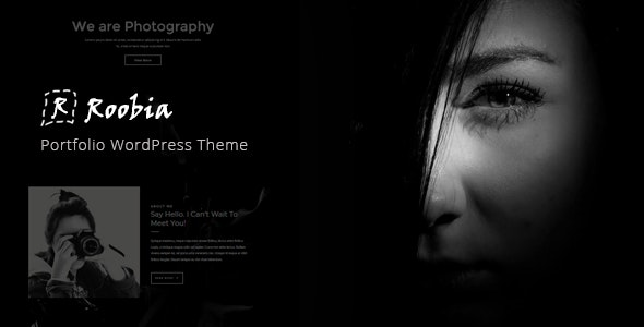 Roobia – Portfolio WordPress Theme