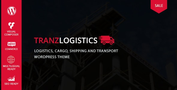 Tranzlogistics – Logistics & Cargo Shipping WordPress Theme