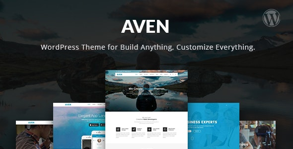 Aven – The Multi-Purpose WordPress Theme