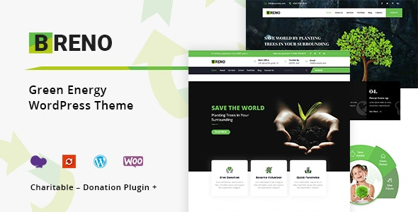 Breno – Green Energy WordPress Theme
