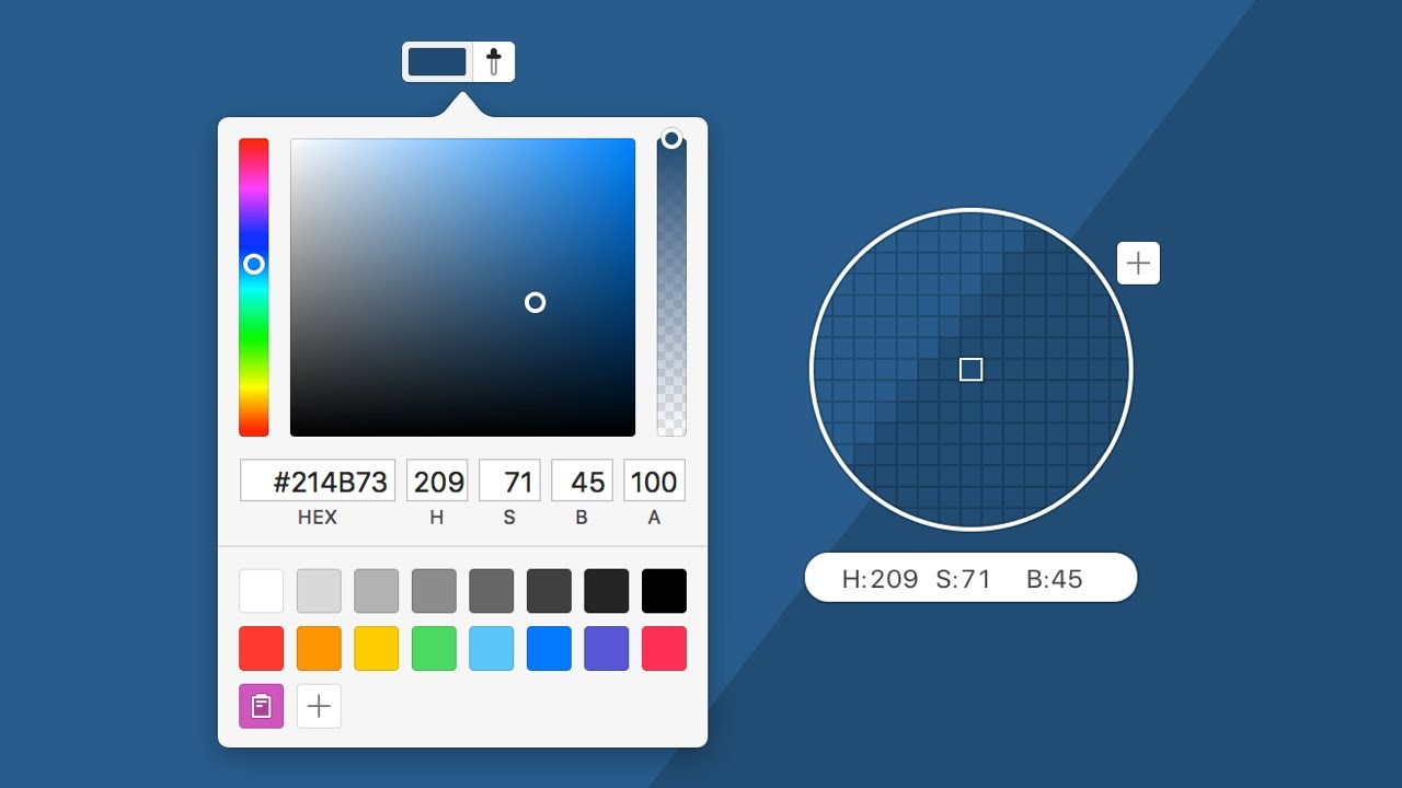 Flexible Color Settings