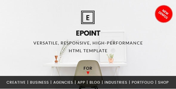 ePoint – Responsive HTML5 Template