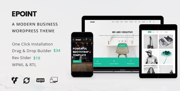 Epoint | Multipurpose WordPress Theme