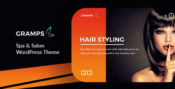 Gramps – Spa & Salon WordPress Theme