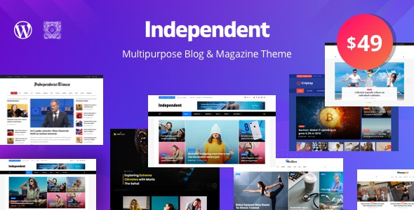 Independent – Multipurpose Blog & Magazine Theme