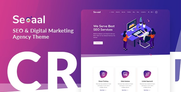 Seoaal – SEO & Digital Marketing WordPress Theme