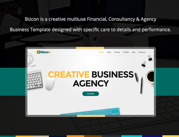 Bizcon Responsive Multipurpose HTML5 Template