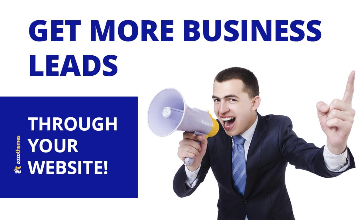 Here you can get an idea to get more Business Leads through your Website!