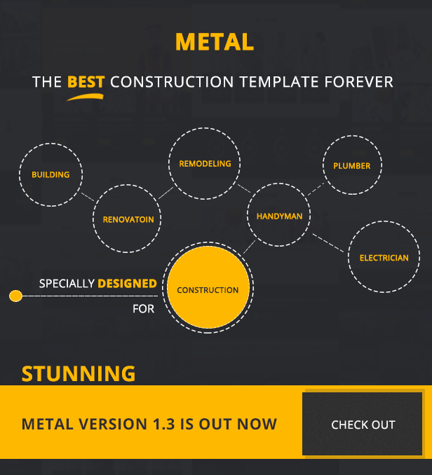 Metal Construction Business Template imgae-2