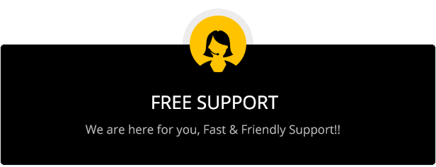 Free customer support for mist MultiPurpose HTML5 Template