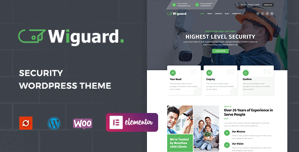 Wiguard – CCTV & Security WordPress Theme
